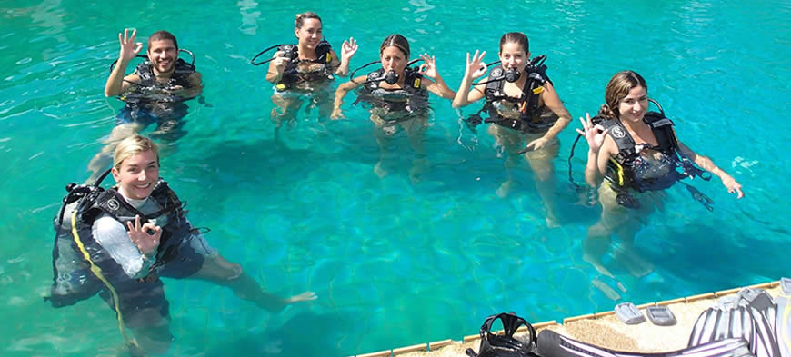 Learn to Dive in Thailand